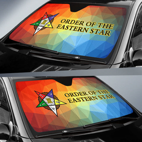 Image of Order of the Eastern Star Auto Sun Shades
