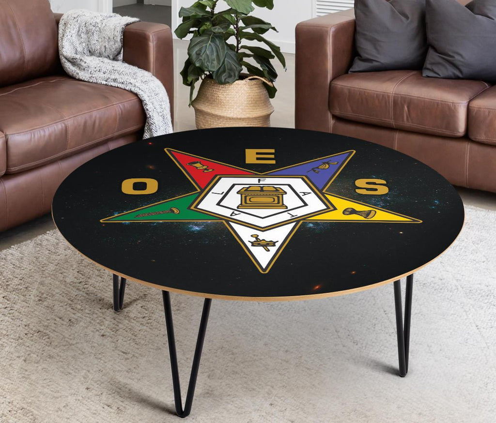 Order of the Eastern Star Made in USA Coffee Table