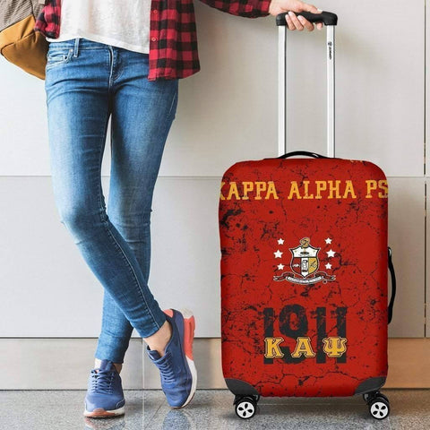 Image of Kappa Alpha Psi Luggage Bag Cover - Unique Greek Store