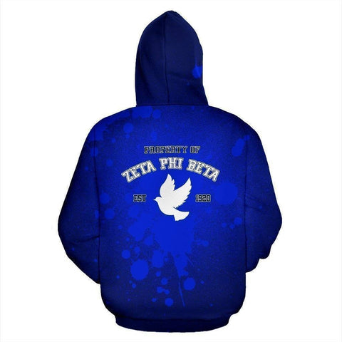 Zeta Phi Beta Founding Year Hoodie - Unique Greek Store
