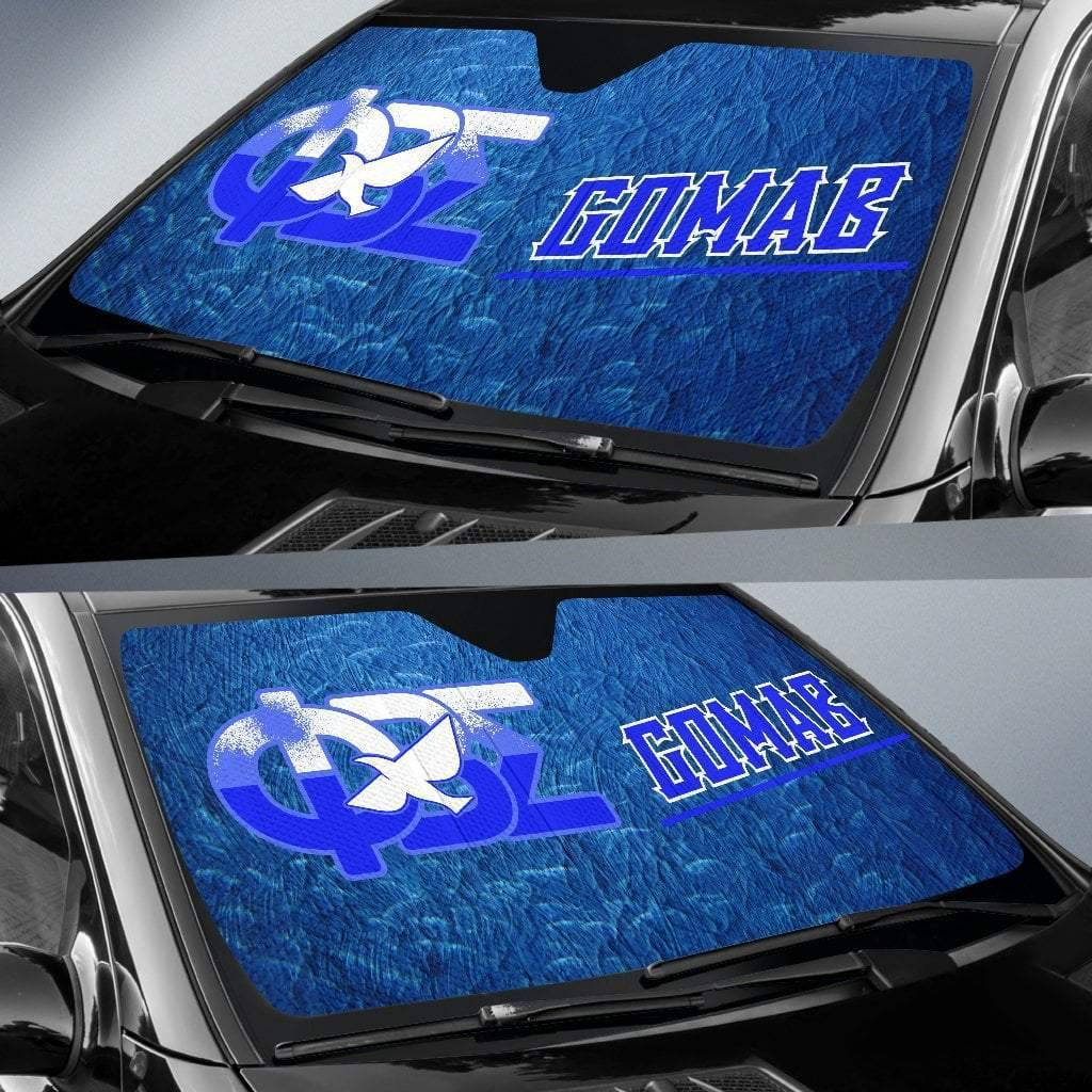 Phi Beta Sigma Windshield Shade - Unique Greek Store