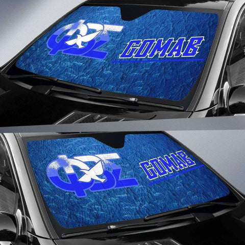Image of Phi Beta Sigma Windshield Shade - Unique Greek Store