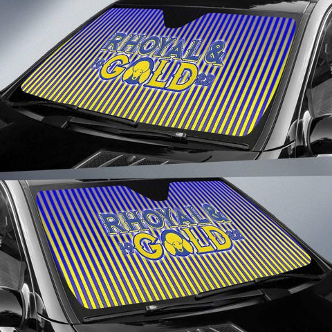 Image of Sigma Gamma Rho Windshield Shade - Unique Greek Store
