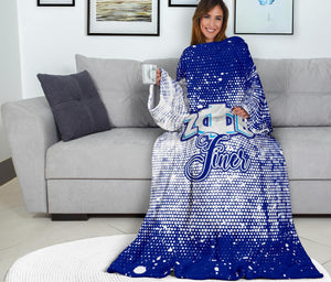 Zeta Phi Beta Adult Sleeve Blanket