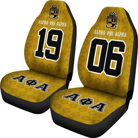 Alpha Phi Alpha Founding Year and Initials Carseat Covers - Unique Greek Store