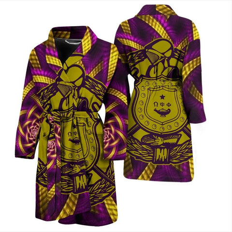 Image of Omega Psi Phi Bath Robe