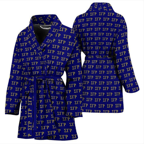 Sigma Gamma Rho Bathrobe - Unique Greek Store