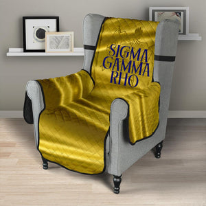 "Sigma Gamma Rho 23"" Chair Sofa Protector"