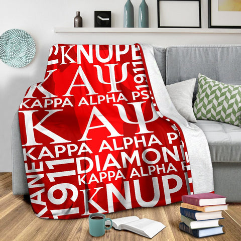 Image of Kappa Alpha Psi Founding Year Blanket