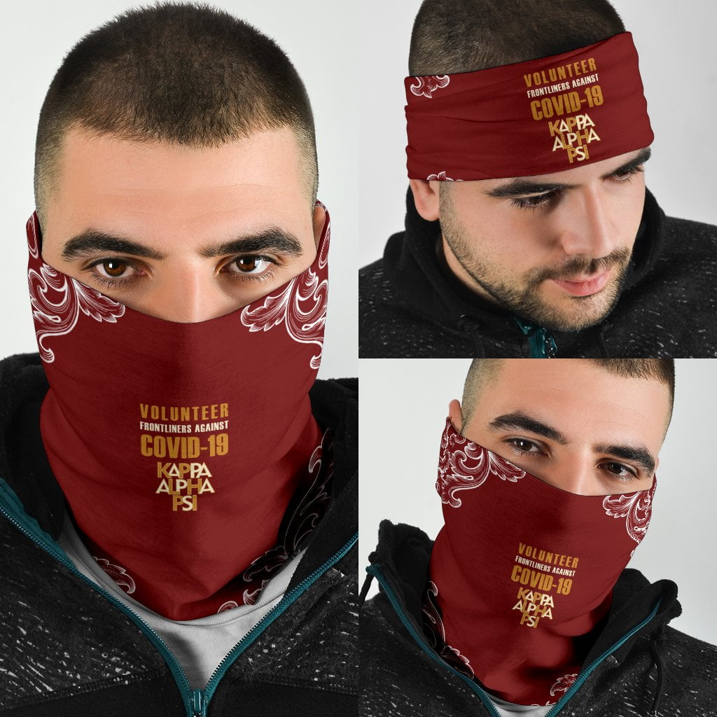 Kappa Alpha Psi COVID - 19 Volunteer Bandana