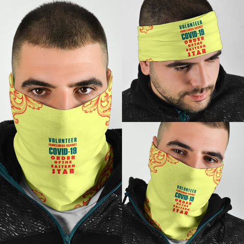 Image of Order of the Eastern Star COVID - 19 Volunteer Bandana