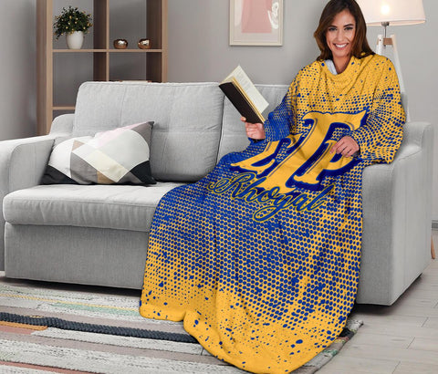 Sigma Gamma Rho Adult Sleeve Blanket