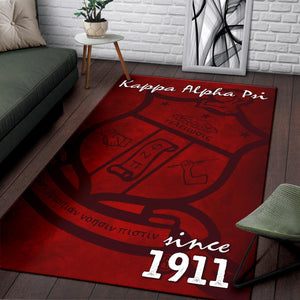 Kappa Alpha Psi Founding Year Area Rug