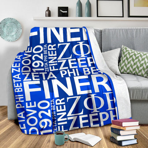 Image of Zeta Phi Beta Founding Year Blanket
