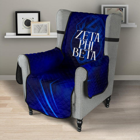 "Zeta Phi Beta 23"" Chair Sofa Protector"