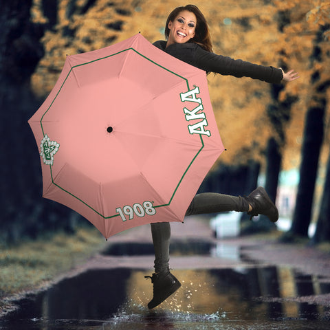 Alpha Kappa Alpha Ivy Leaf Umbrella