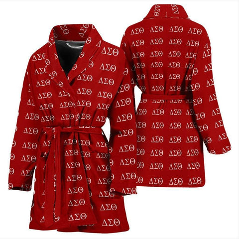 Delta Sigma Theta Bathrobe - Unique Greek Store