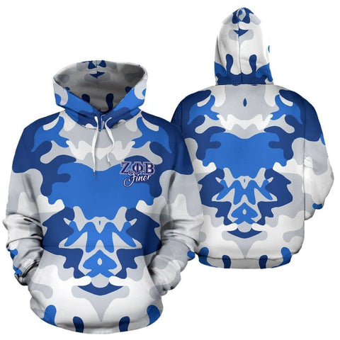 Image of Zeta Phi Beta Sorority Hoodie