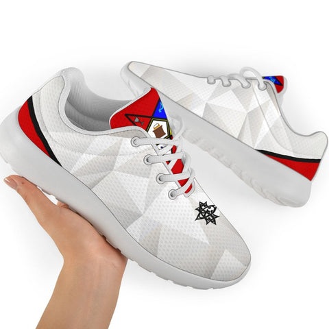 Image of Order of the Eastern Star Emblem Sport Sneakers
