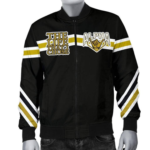 Image of Alpha Phi Alpha Bomber Jacket - Unique Greek Store