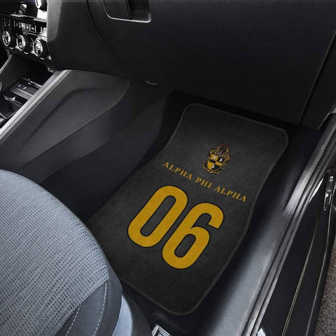 Image of Alpha Phi Alpha 1906 Car Mats - Unique Greek Store