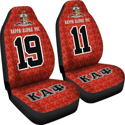 Image of Kappa Alpha Psi Founding Year and Initials Carseat Covers - Unique Greek Store