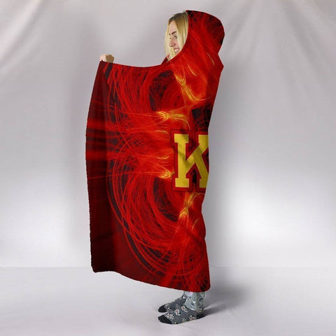 Image of Kappa Alpha Psi Hooded Blanket - Unique Greek Store