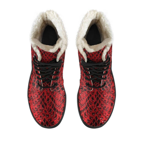 Image of Delta Sigma Theta Fur Boots