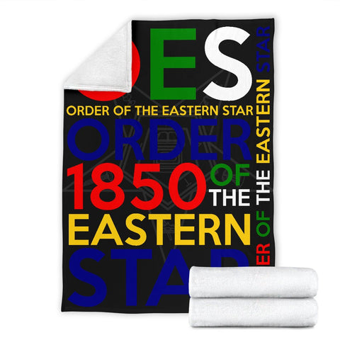 Image of Order of the Eastern Star Founding Year Blanket