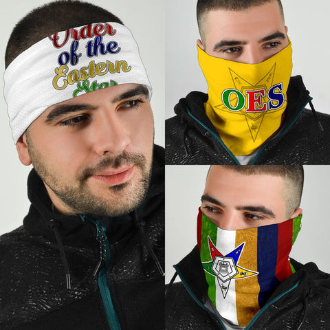 Image of Order of the Eastern Star Bandana 3-Pack