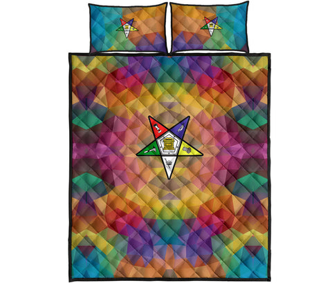 Image of Order of the Eastern Star Quilt Bed Set