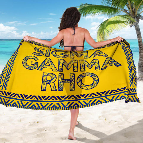 Image of Sigma Gamma Rho Sorority Sarong
