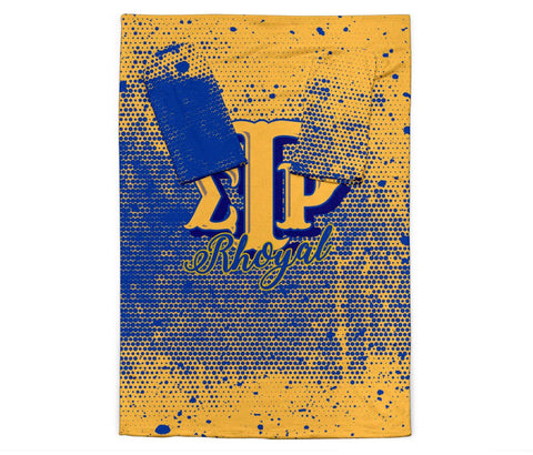 Image of Sigma Gamma Rho Adult Sleeve Blanket