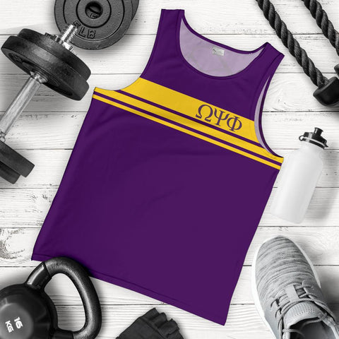Image of Omega Psi Phi Fraternity Tank Top