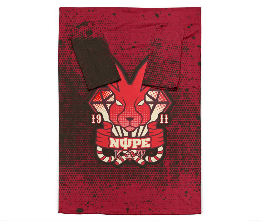 Kappa Alpha Psi Adult Sleeve Blanket