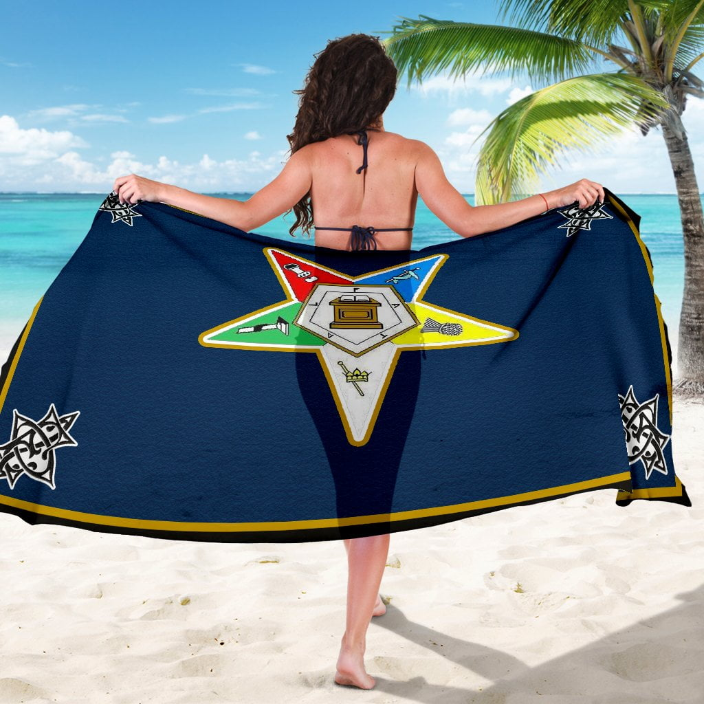 Order of the Eastern Star Emblem Sarong