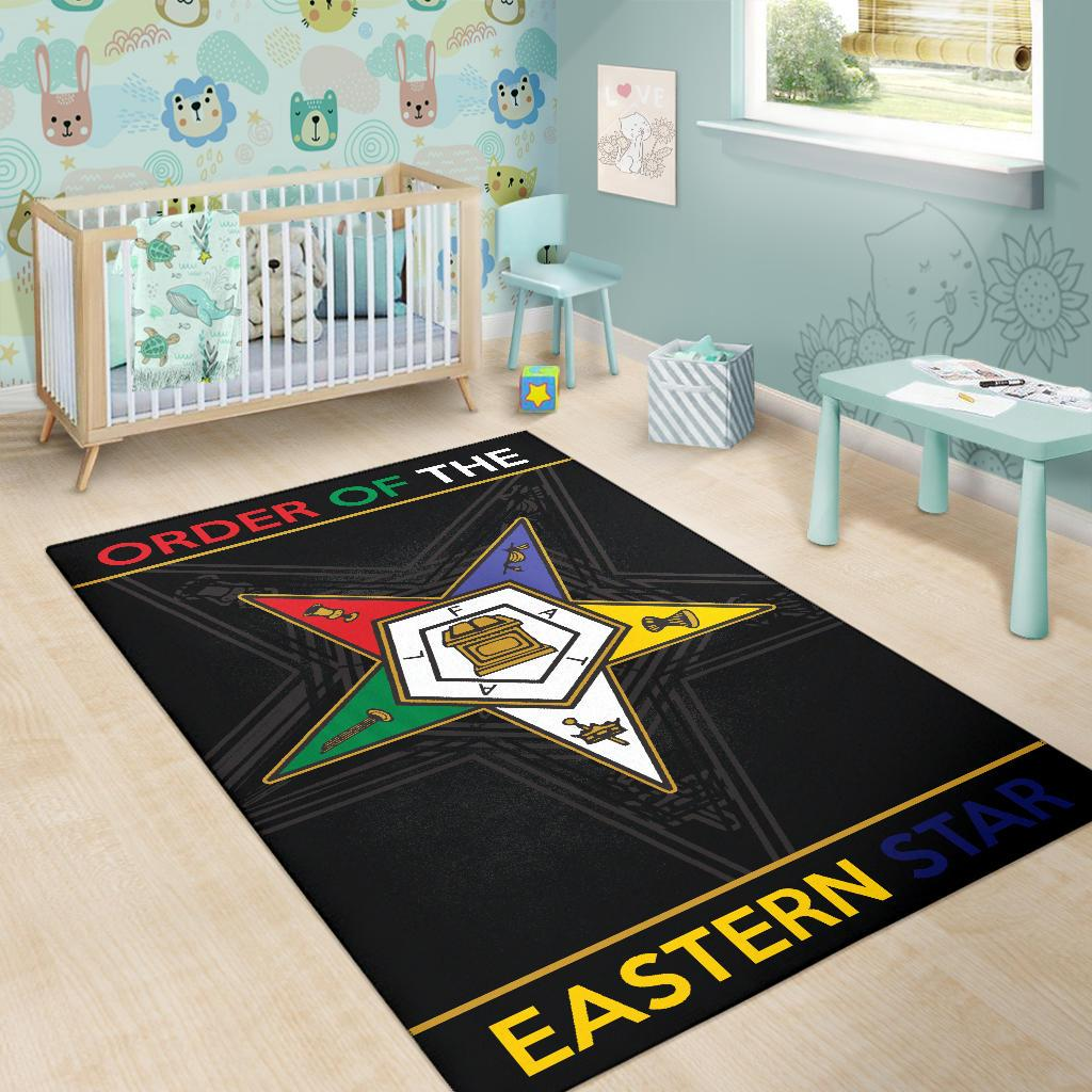 Order of the Eastern Star Area Rug