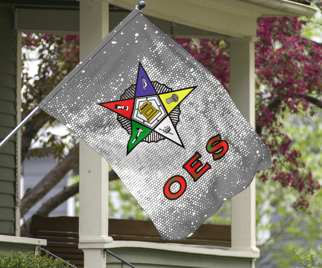 Order of the Eastern Star Emblem Flag