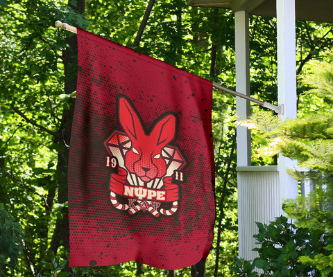 Image of Kappa Alpha Psi Fraternity Flag