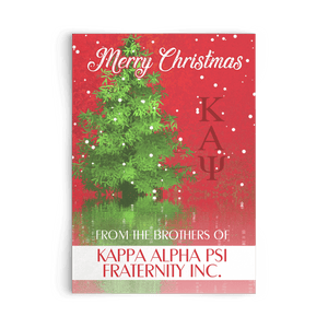 Kappa Alpha Psi Christmas Card - Unique Greek Store