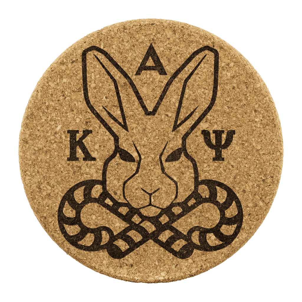 Kappa Alpha Psi Cork Coaster