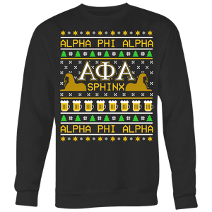 Alpha Phi Alpha Ugly Sweaters - Unique Greek Store