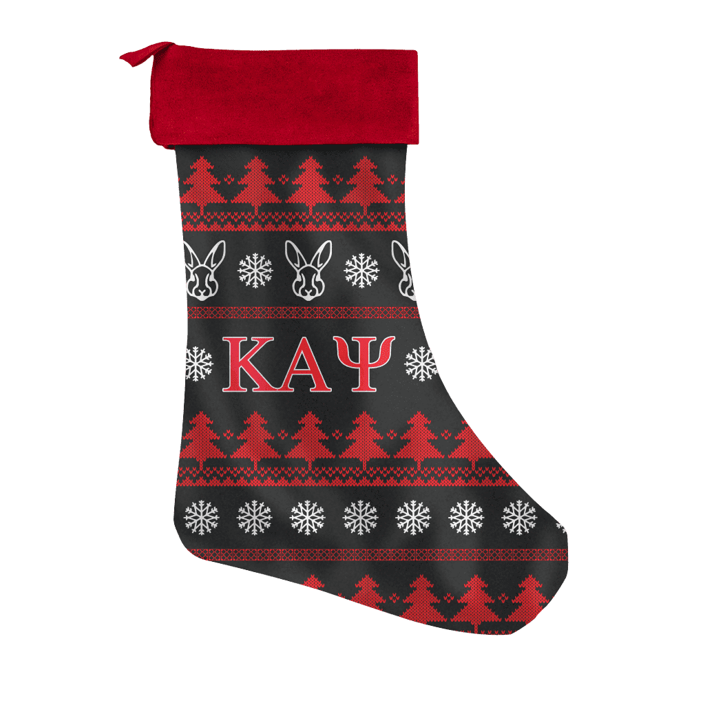 Kappa Alpha Psi Christmas Stocking - Unique Greek Store