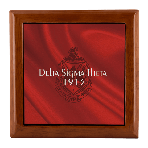 Delta Sigma Theta Jewelry Box - Unique Greek Store