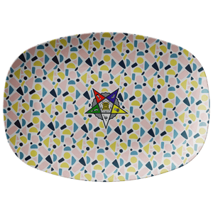 Order of the Eastern Star Emblem Platter