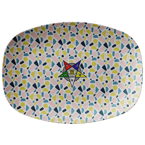 Image of Order of the Eastern Star Emblem Platter