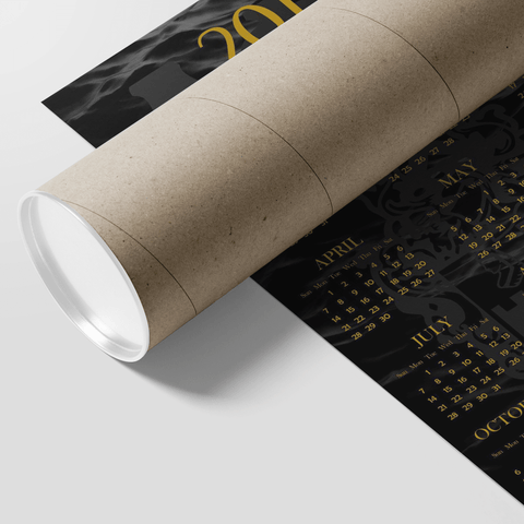 Image of Alpha Phi Alpha 2019 Calendar - Unique Greek Store