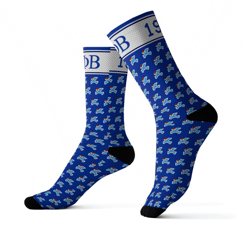 Image of Zeta Phi Beta Christmas Holiday Socks