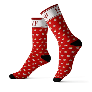 Kappa Alpha Psi Christmas Holiday Socks