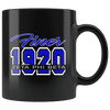 Zeta Phi Beta Black Mug - Unique Greek Store